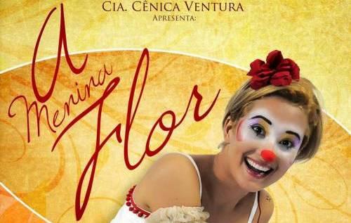 A Menina Flor - Cartaz